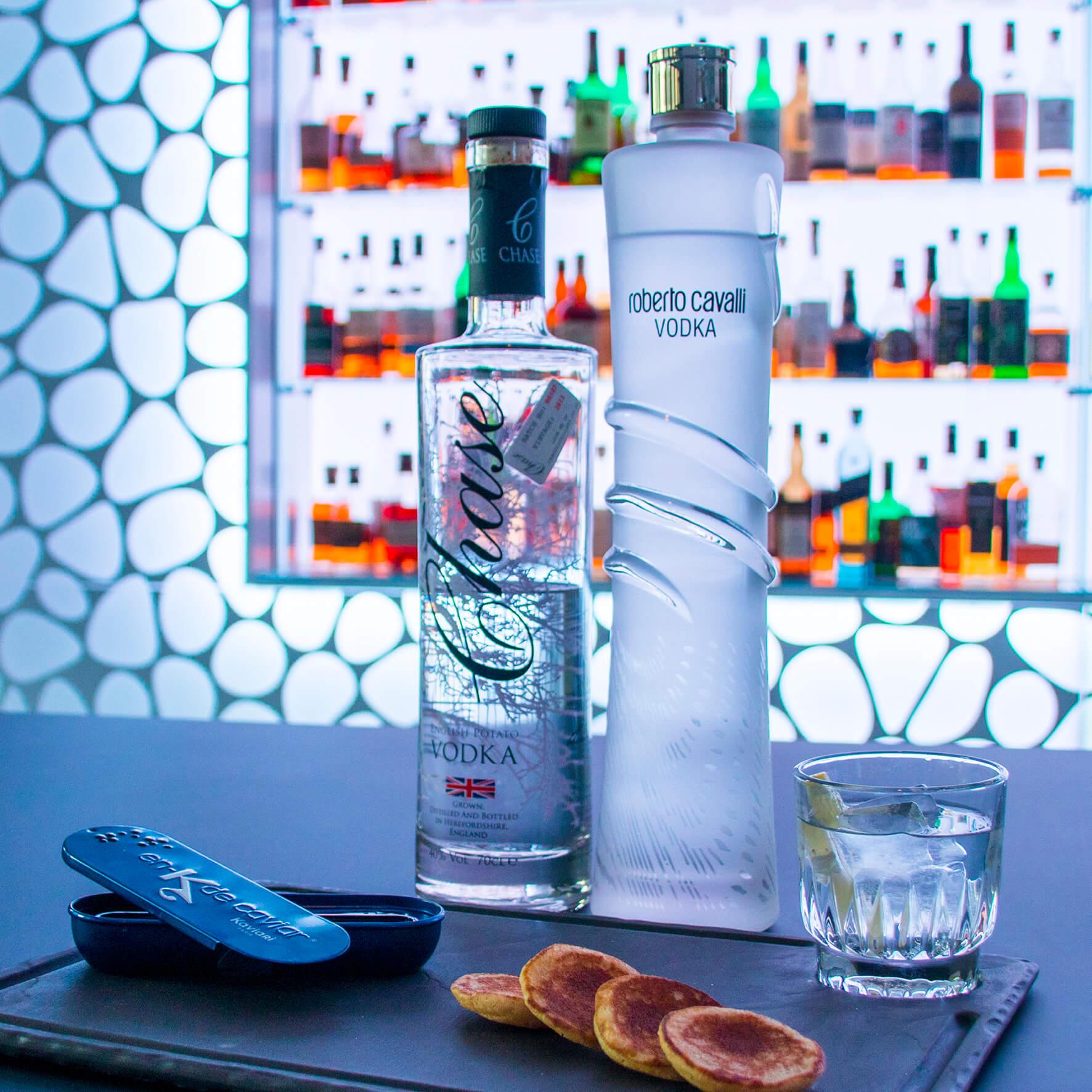 Caviar et vodka